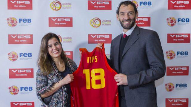 VIPS renueva su colaboración con la Selección Española de Baloncesto