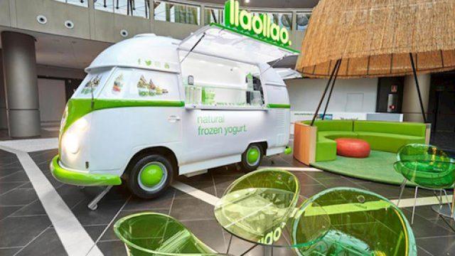 La franquicia llaollao lanza un nuevo modelo de negocio: el food truck
